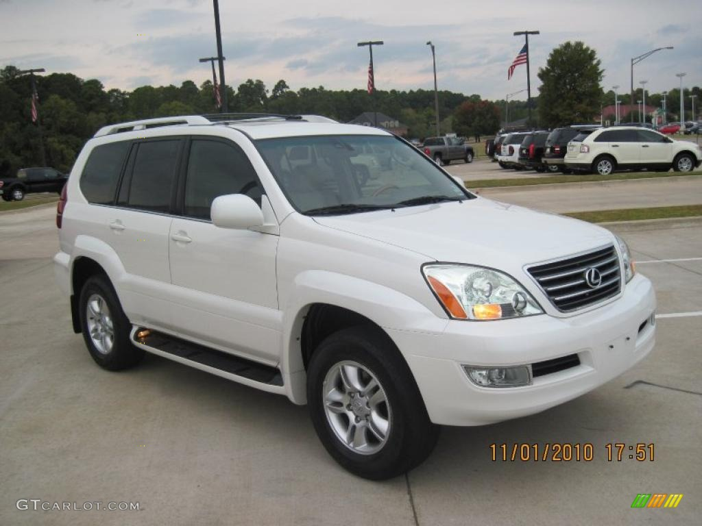 2004 blizzard white pearl lexus gx 470 39148970. Black Bedroom Furniture Sets. Home Design Ideas