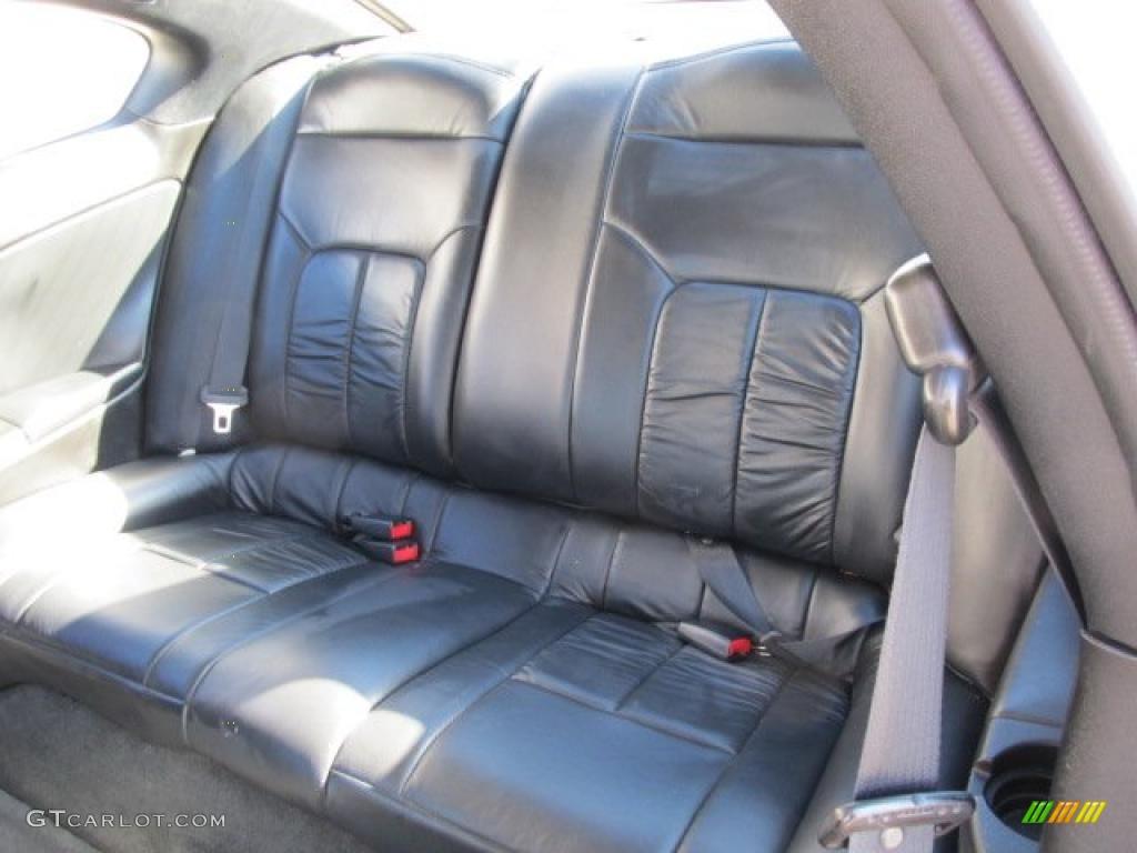 Black Interior 2004 Chrysler Sebring Coupe Photo 39185423