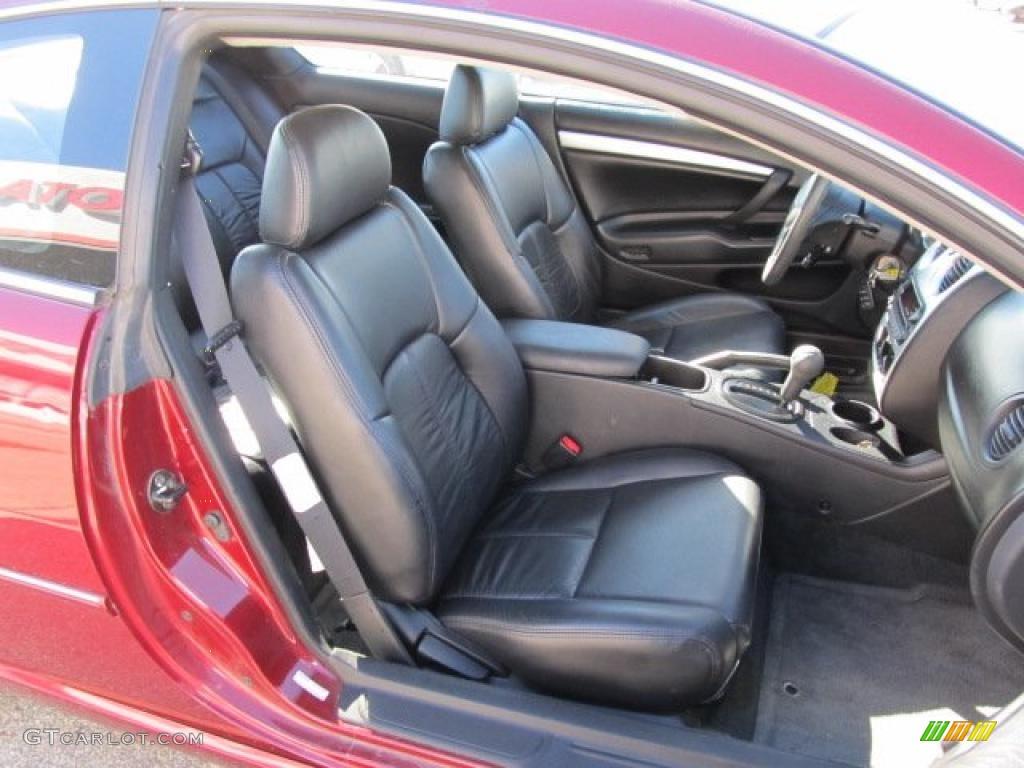 Black Interior 2004 Chrysler Sebring Coupe Photo 39185439