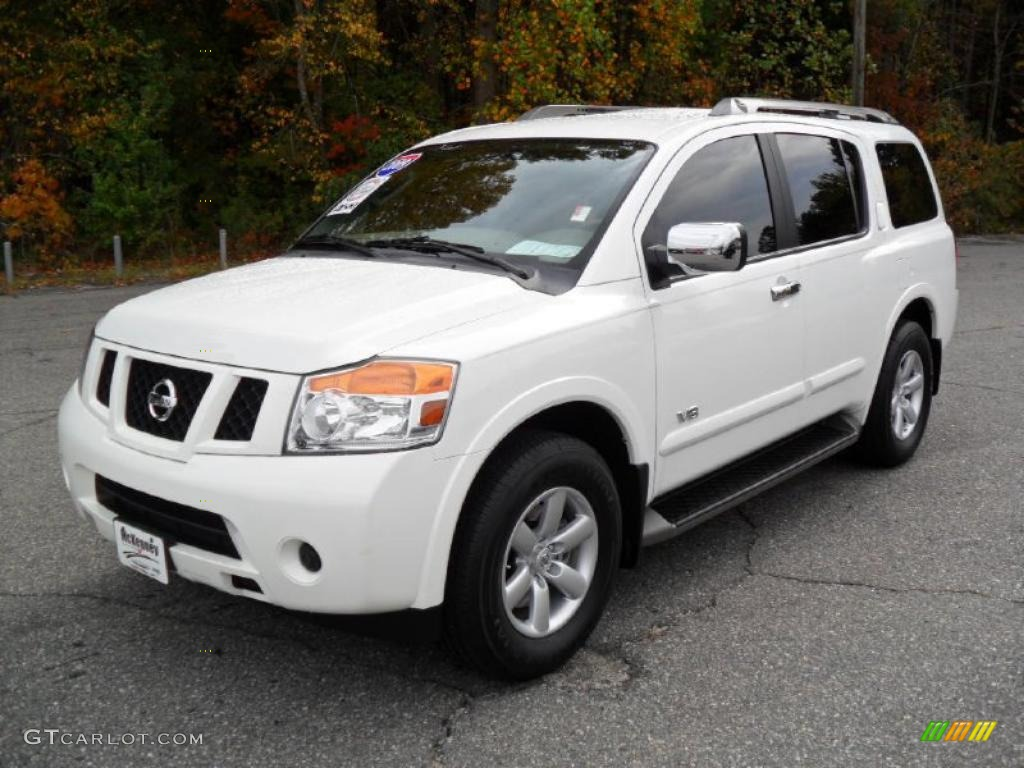 2009 blizzard white nissan armada se 39149366 gtcarlot blizzard white nissan armada nissan armada se vanachro Image collections