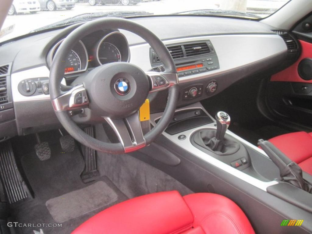 dream red interior 2007 bmw z4 coupe photo 39187731