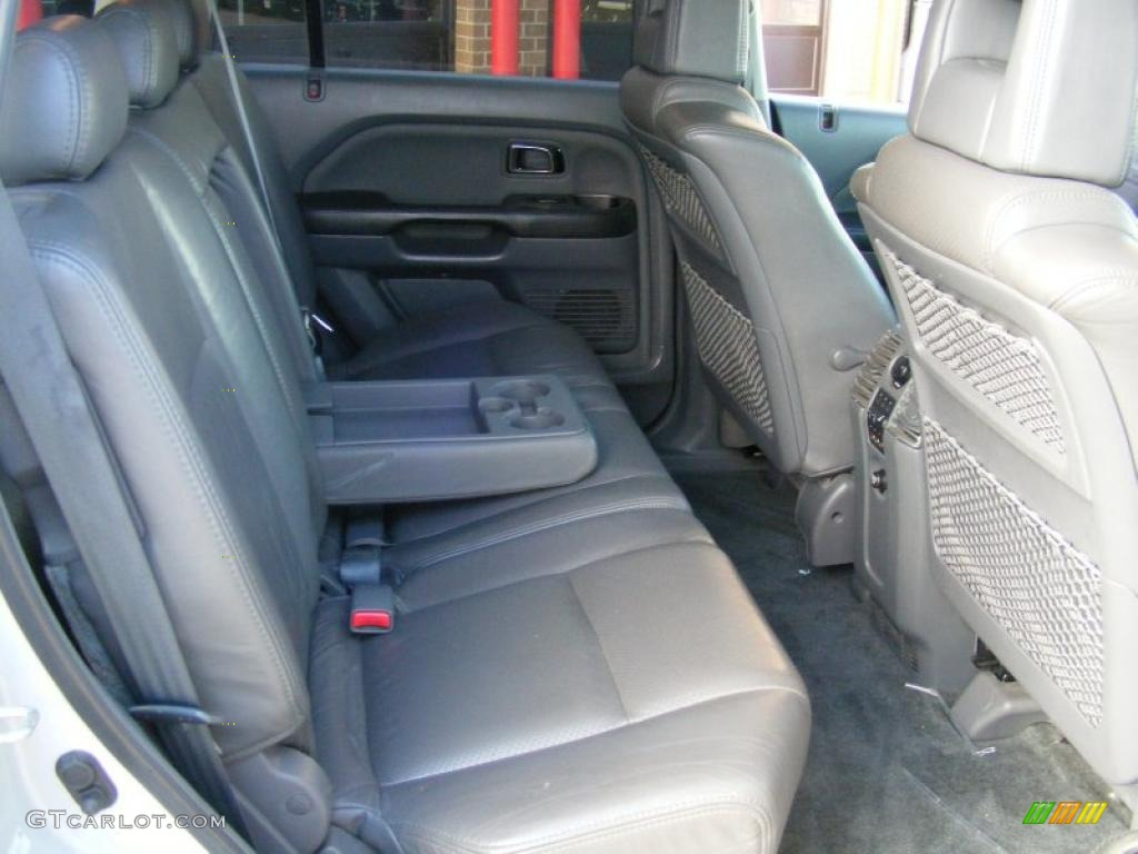 gray interior 2003 honda pilot ex l 4wd photo 39191555. Black Bedroom Furniture Sets. Home Design Ideas
