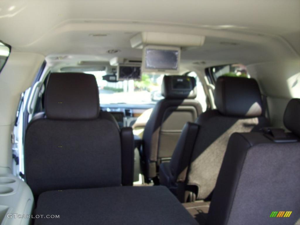 Cocoa Light Linen Tehama Leather Interior 2011 Cadillac Escalade Esv Platinum Awd Photo