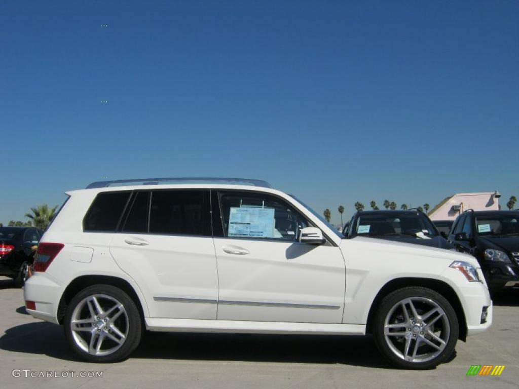Arctic white 2011 mercedes benz glk 350 exterior photo for Mercedes benz glk350 2011
