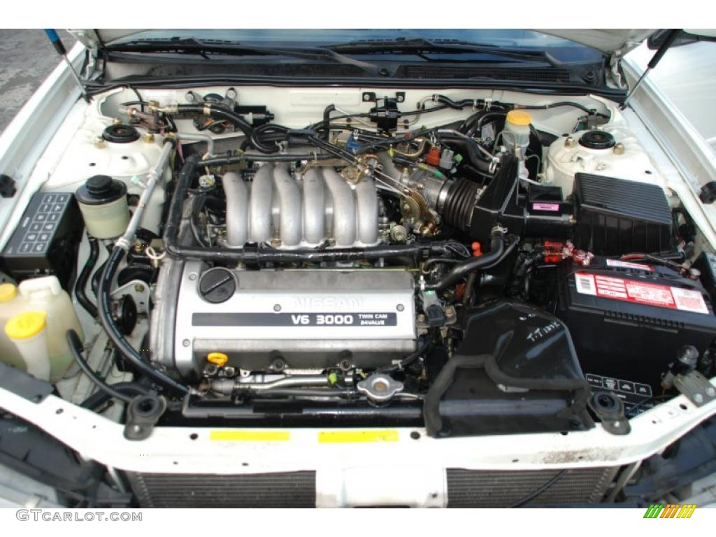 1999 nissan maxima se 3 0 liter dohc 24 valve v6 engine photo rh gtcarlot  com Nissan V6 3000 Engine Diagram 2006 Nissan Frontier Engine Diagram