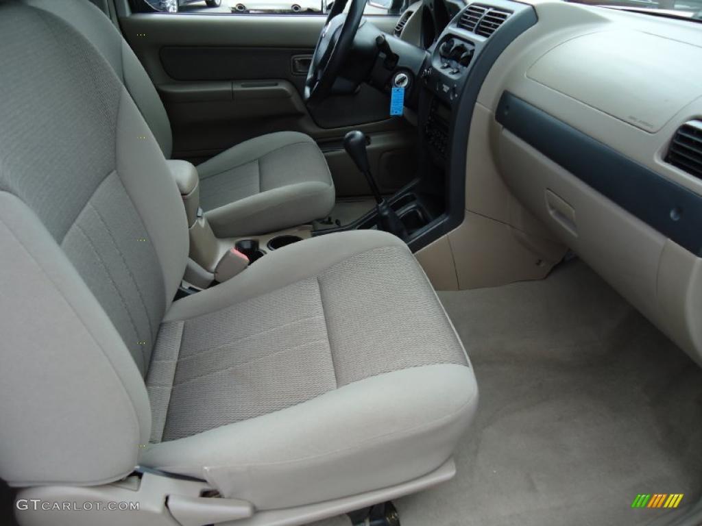 Beige Interior 2002 Nissan Frontier Xe King Cab Photo 39199415