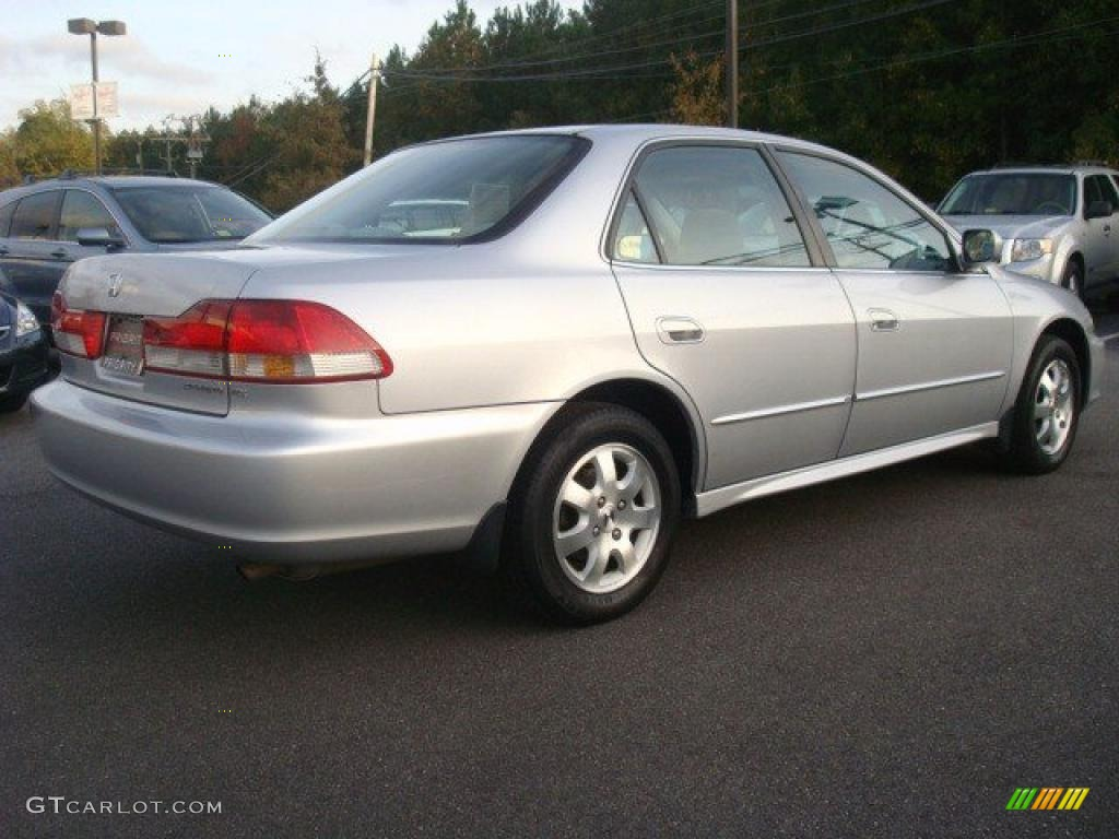 Satin Silver Metallic 2002 Honda Accord Ex Sedan Exterior