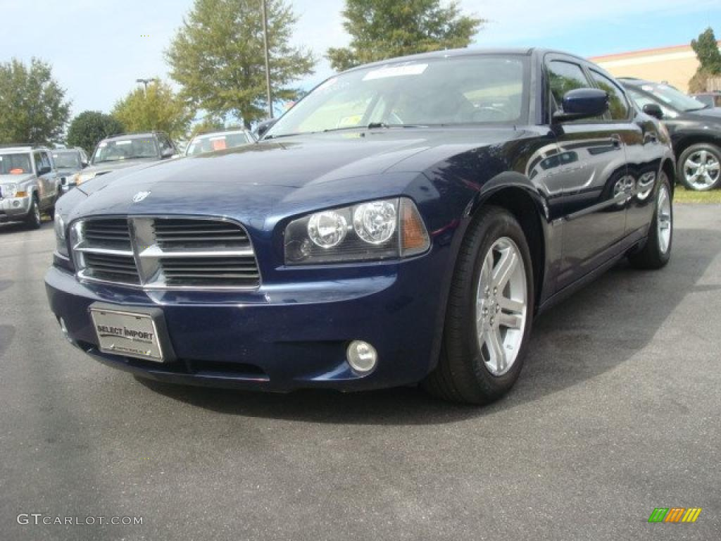 2006 Midnight Blue Pearl Dodge Charger Rt 39148237 Gtcarlotcom