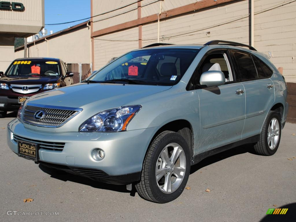 bamboo pearl 2008 lexus rx 400h awd hybrid exterior photo. Black Bedroom Furniture Sets. Home Design Ideas