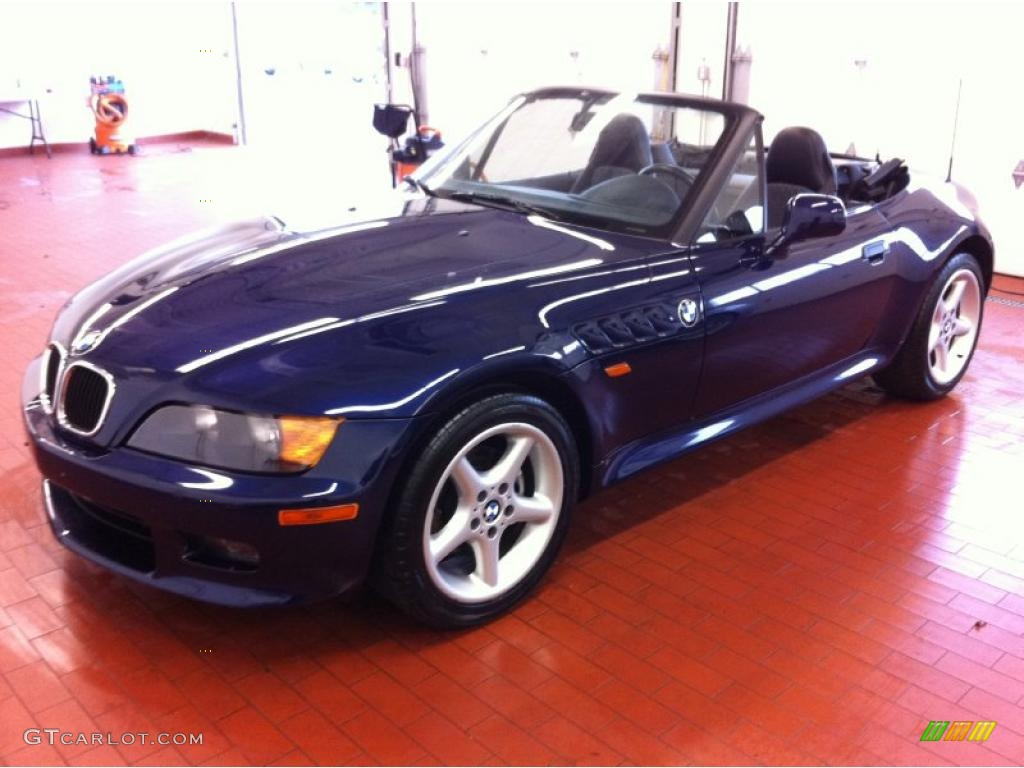 1997 Montreal Blue Metallic BMW Z3 2.8 Roadster #39148703