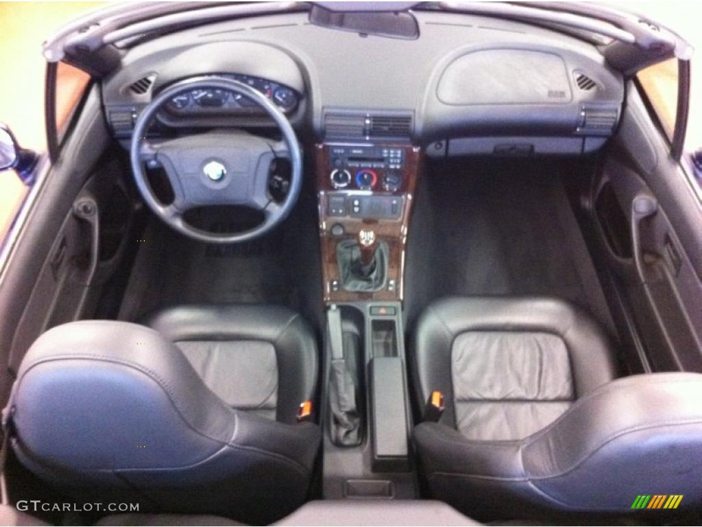 Black Interior 1997 Bmw Z3 2 8 Roadster Photo 39212778