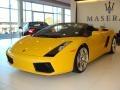 Giallo Halys (Yellow) 2007 Lamborghini Gallardo Gallery
