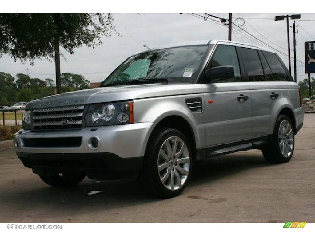 zambezi silver metallic 2006 land rover range rover sport. Black Bedroom Furniture Sets. Home Design Ideas