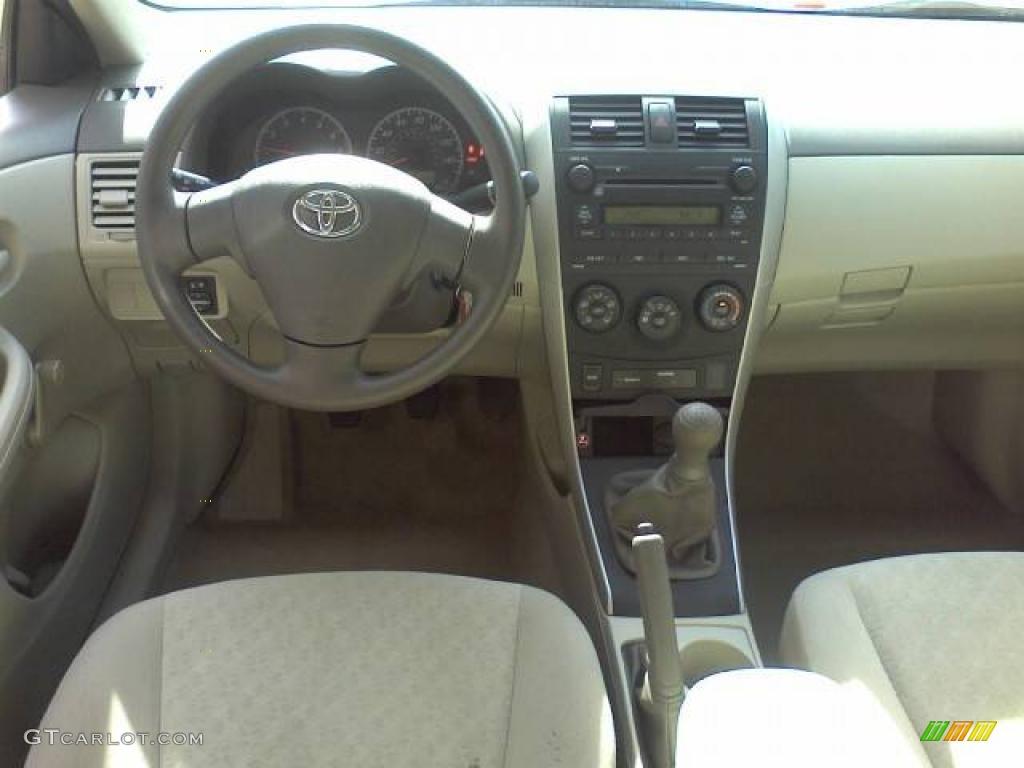 Bisque Interior 2009 Toyota Corolla Standard Corolla Model Photo 39223714