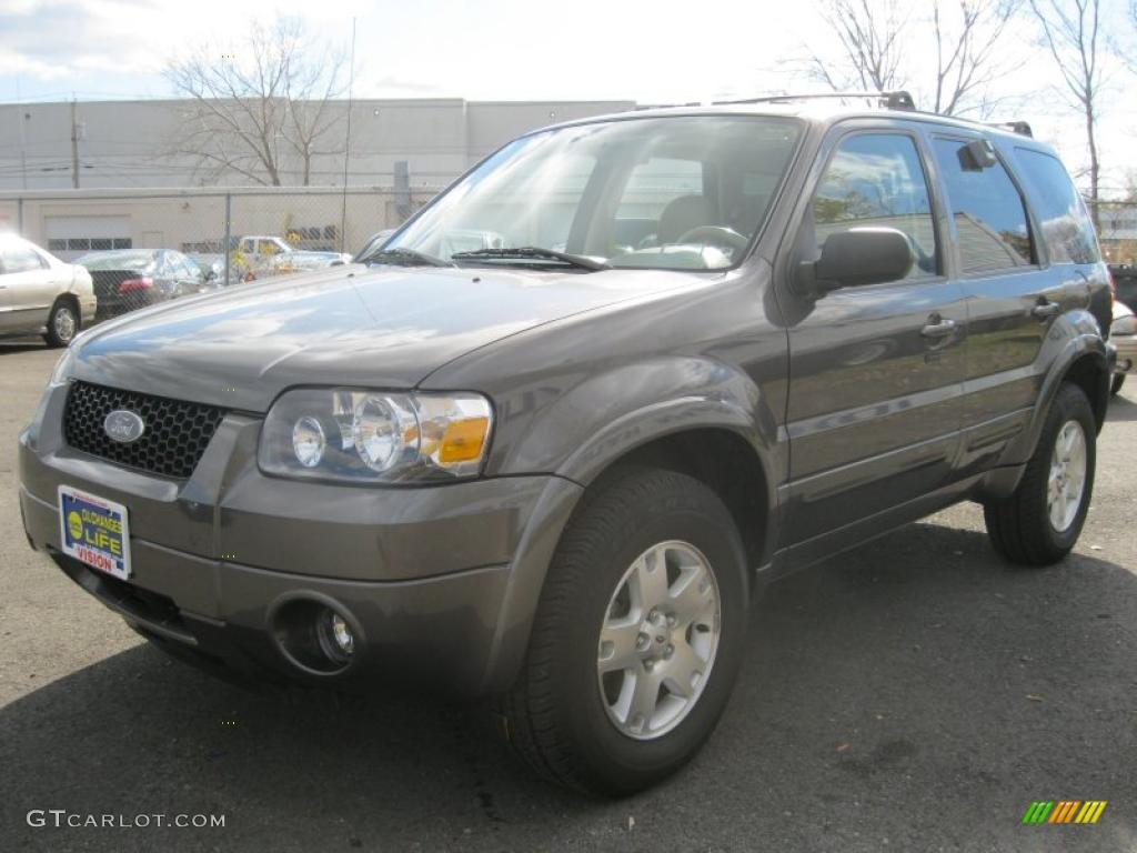 2006 Escape Limited 4WD - Dark Shadow Grey Metallic / Medium/Dark Pebble photo #1