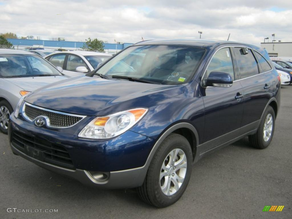 deep blue 2007 hyundai veracruz gls exterior photo. Black Bedroom Furniture Sets. Home Design Ideas