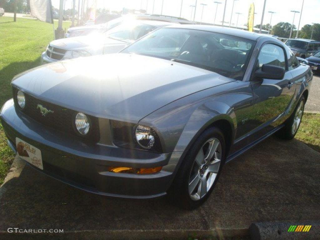 2007 Mustang GT Premium Coupe - Tungsten Grey Metallic / Light Graphite photo #1