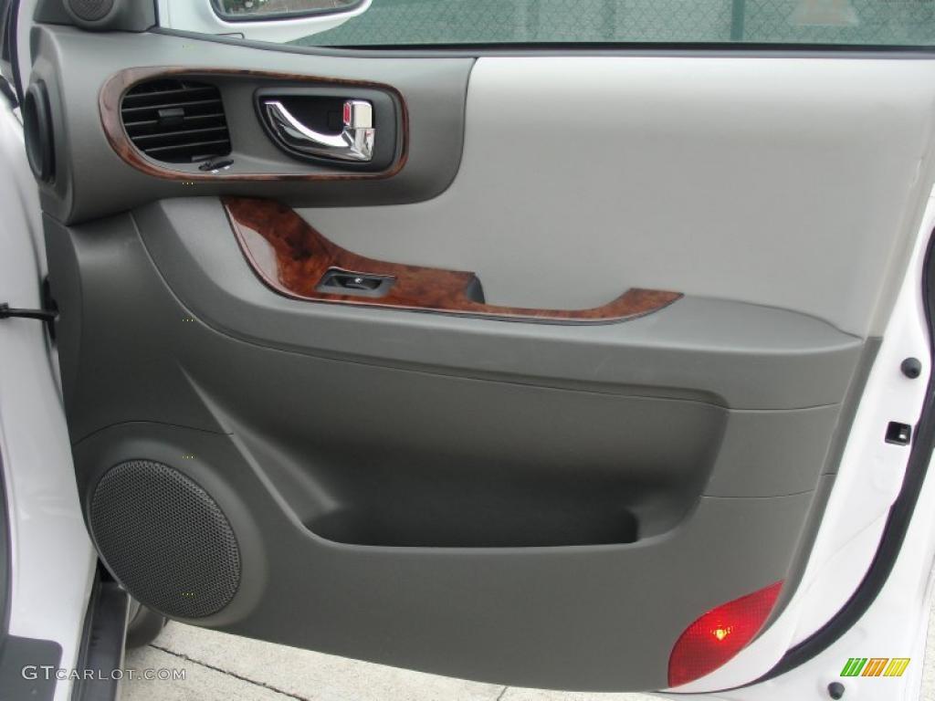 2006 Hyundai Santa Fe Gls Gray Door Panel Photo 39232923