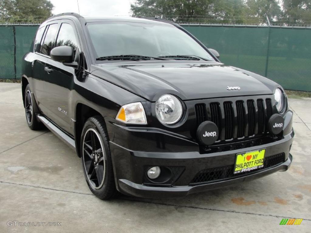 2008 brilliant black crystal pearl jeep compass rallye 39148757 car color. Black Bedroom Furniture Sets. Home Design Ideas