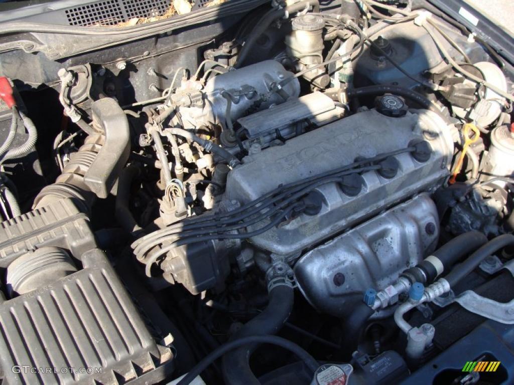 1997 honda civic ex coupe 1 6 liter sohc 16 valve vtec 4 cylinder engine photo 39238045. Black Bedroom Furniture Sets. Home Design Ideas