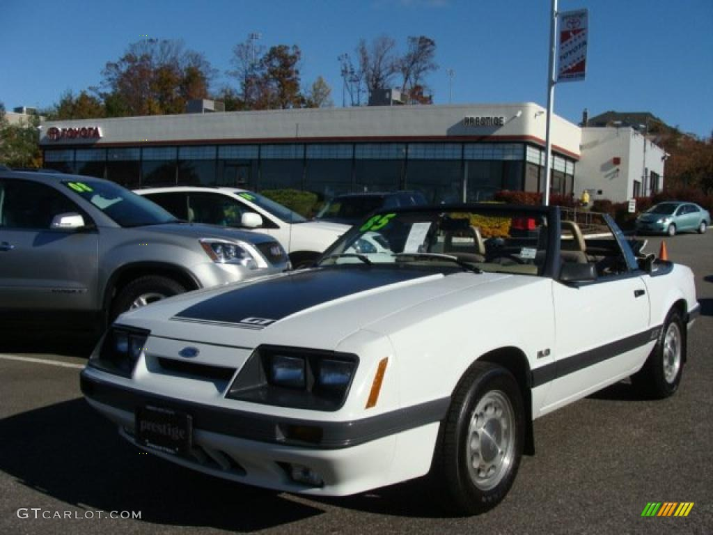 1985 ford mustang gt convertible. Black Bedroom Furniture Sets. Home Design Ideas
