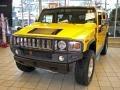 2003 Yellow Hummer H2 SUV  photo #2