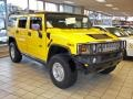 2003 Yellow Hummer H2 SUV  photo #4