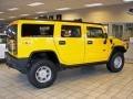 2003 Yellow Hummer H2 SUV  photo #6