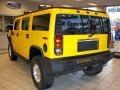 2003 Yellow Hummer H2 SUV  photo #9