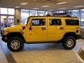 2003 Yellow Hummer H2 SUV  photo #10