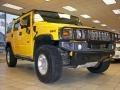 2003 Yellow Hummer H2 SUV  photo #31
