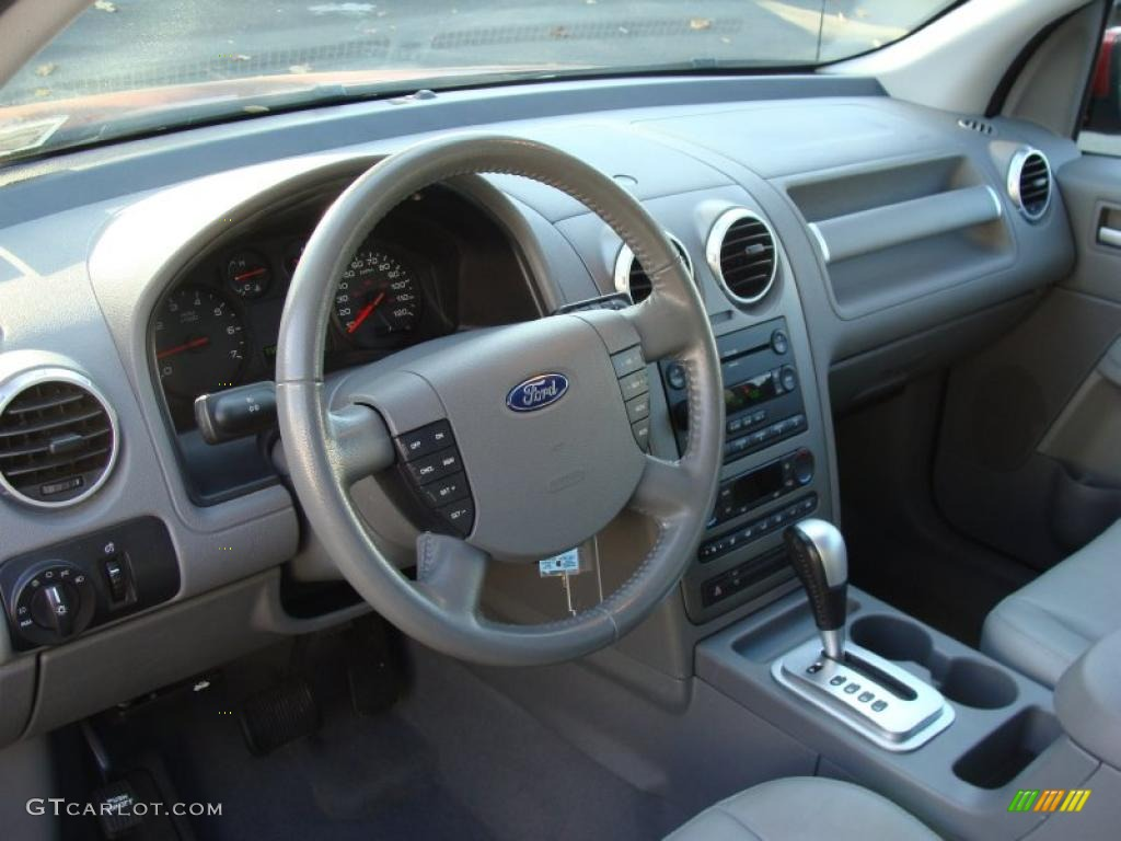 Pebble Beige Interior 2006 Ford Freestyle Sel Awd Photo 39250068
