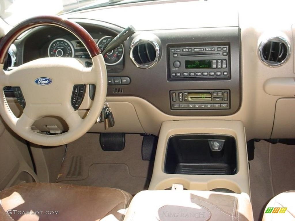 2006 ford expedition king ranch castano brown leather. Black Bedroom Furniture Sets. Home Design Ideas