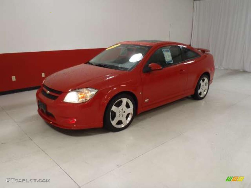 victory red 2007 chevrolet cobalt ss supercharged coupe. Black Bedroom Furniture Sets. Home Design Ideas