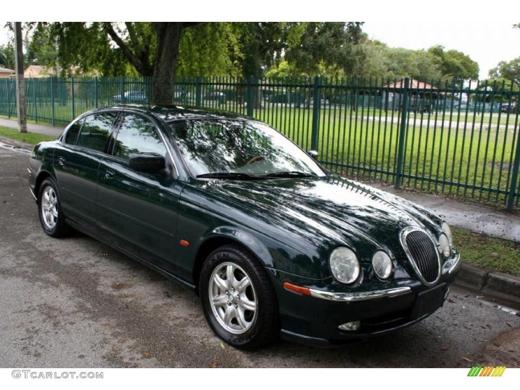 British racing green 2000 jaguar s type 4 0 exterior photo 39263167