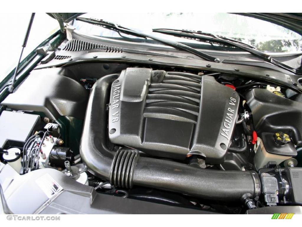 2000 Jaguar S Type 4 0 4 0 Liter Dohc 32 Valve V8 Engine