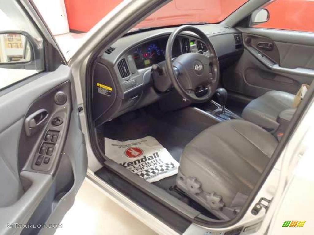 Gray Interior 2006 Hyundai Elantra Gt Hatchback Photo 39264591 Gtcarlot Com
