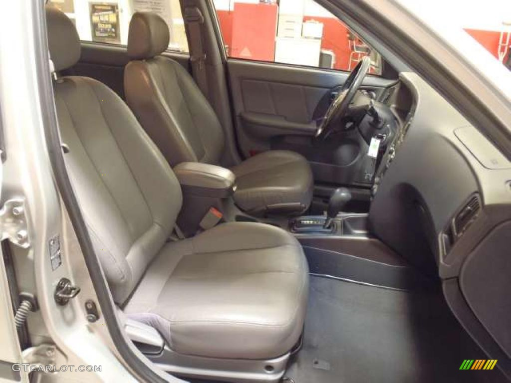 Gray Interior 2006 Hyundai Elantra Gt Hatchback Photo 39264727