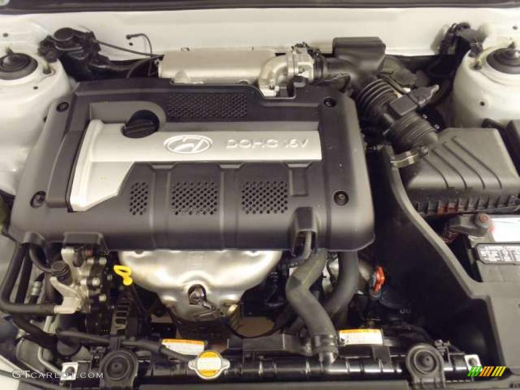 2006 Hyundai Elantra GT Hatchback 2.0 Liter DOHC 16V VVT 4 Cylinder Engine  Photo #39264747