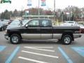 2002 Onyx Black Chevrolet Silverado 1500 LS Extended Cab 4x4  photo #6