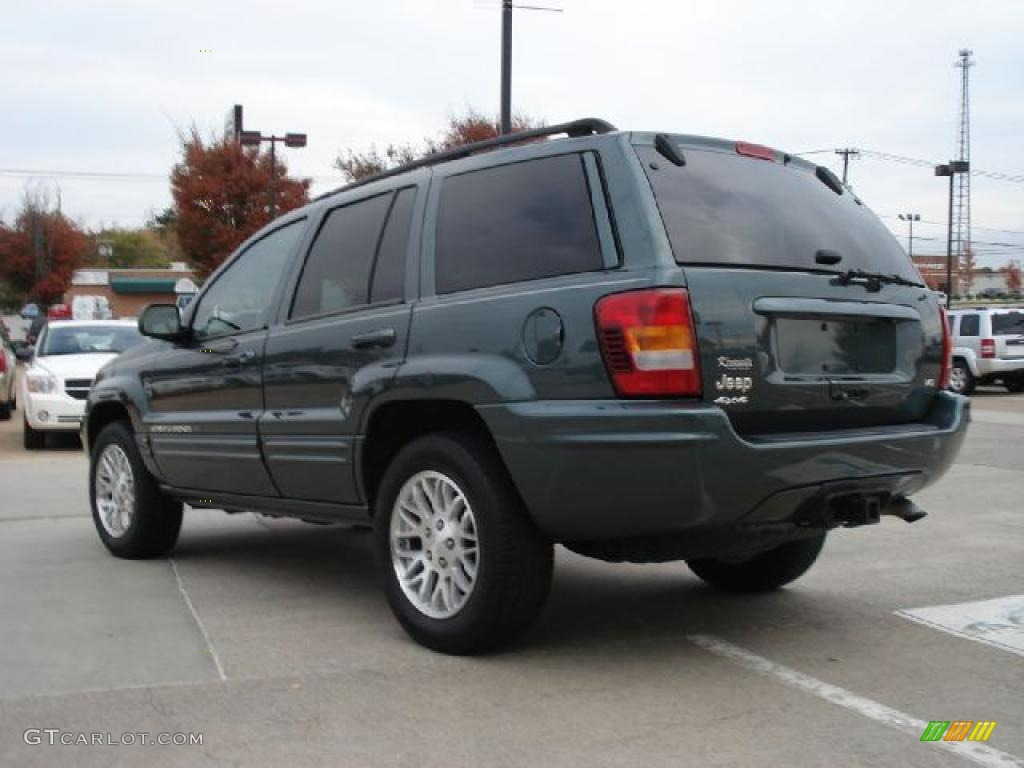onyx green pearlcoat 2003 jeep grand cherokee limited 4x4 exterior photo 39272223. Black Bedroom Furniture Sets. Home Design Ideas