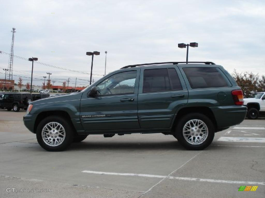 onyx green pearlcoat 2003 jeep grand cherokee limited 4x4 exterior photo 39272235. Black Bedroom Furniture Sets. Home Design Ideas