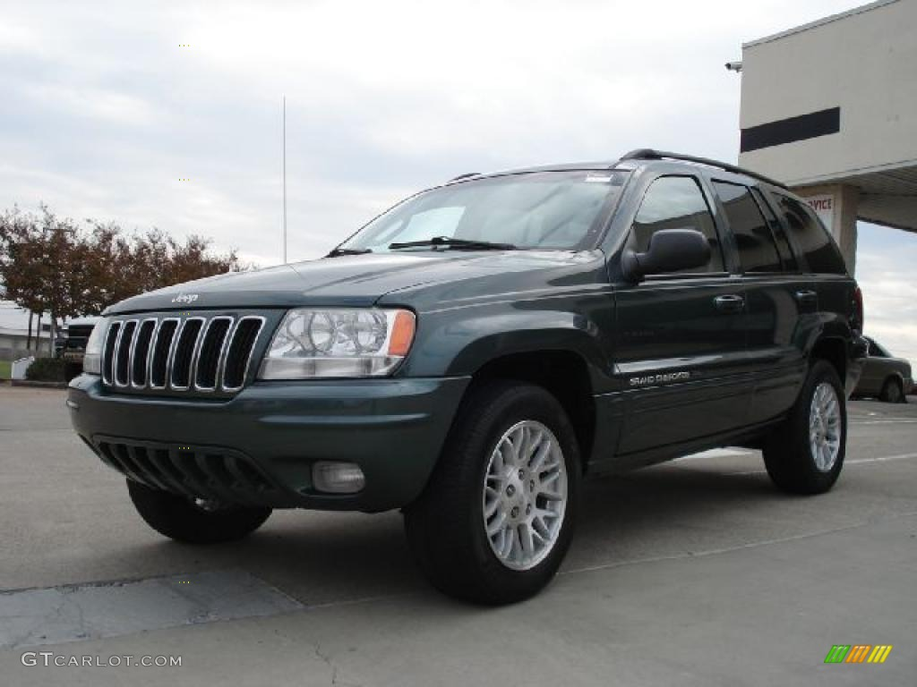 onyx green pearlcoat 2003 jeep grand cherokee limited 4x4 exterior photo 39272255. Black Bedroom Furniture Sets. Home Design Ideas