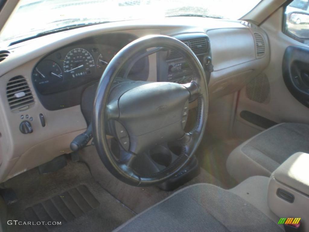 Medium Prairie Tan Interior 2000 Ford Ranger Xl Supercab Photo 39275703