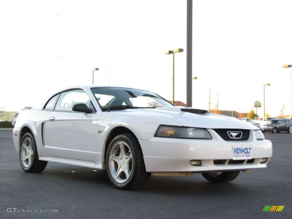 Oxford White 2003 Ford Mustang GT Coupe Exterior Photo ...