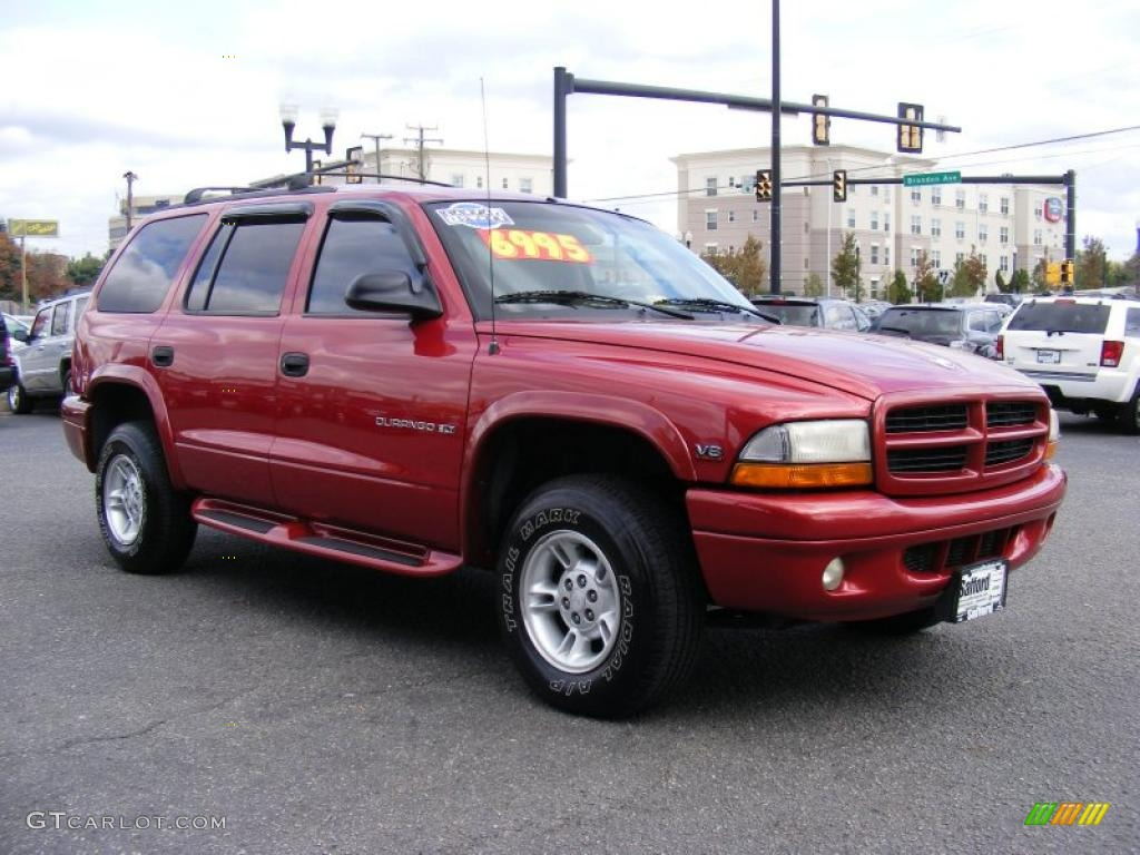chili pepper red pearlcoat 1999 dodge durango slt 4x4. Black Bedroom Furniture Sets. Home Design Ideas