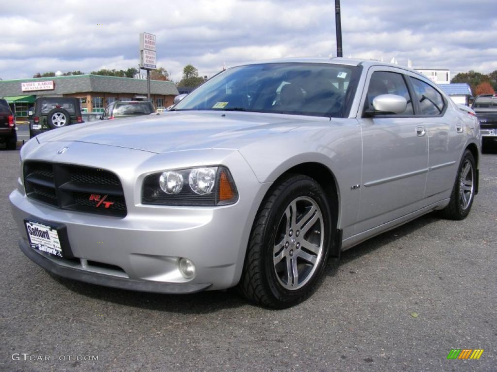 bright silver metallic 2006 dodge charger r t exterior photo 39281443. Black Bedroom Furniture Sets. Home Design Ideas