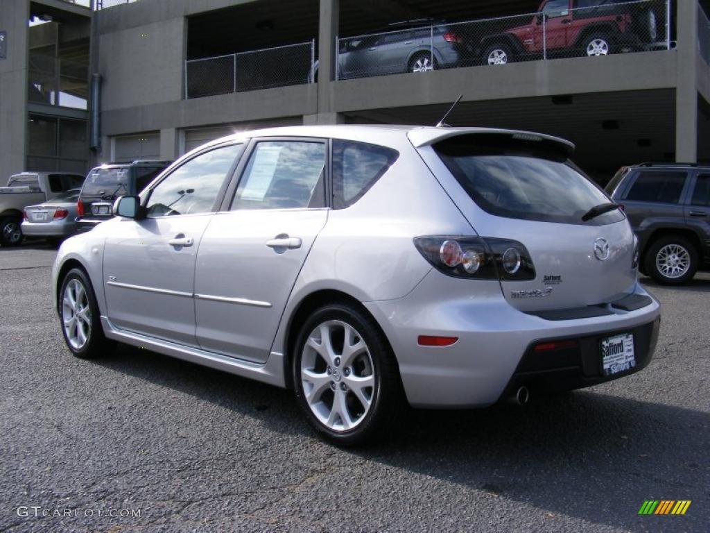 Sunlight Silver Metallic 2009 Mazda MAZDA3 s Sport ...