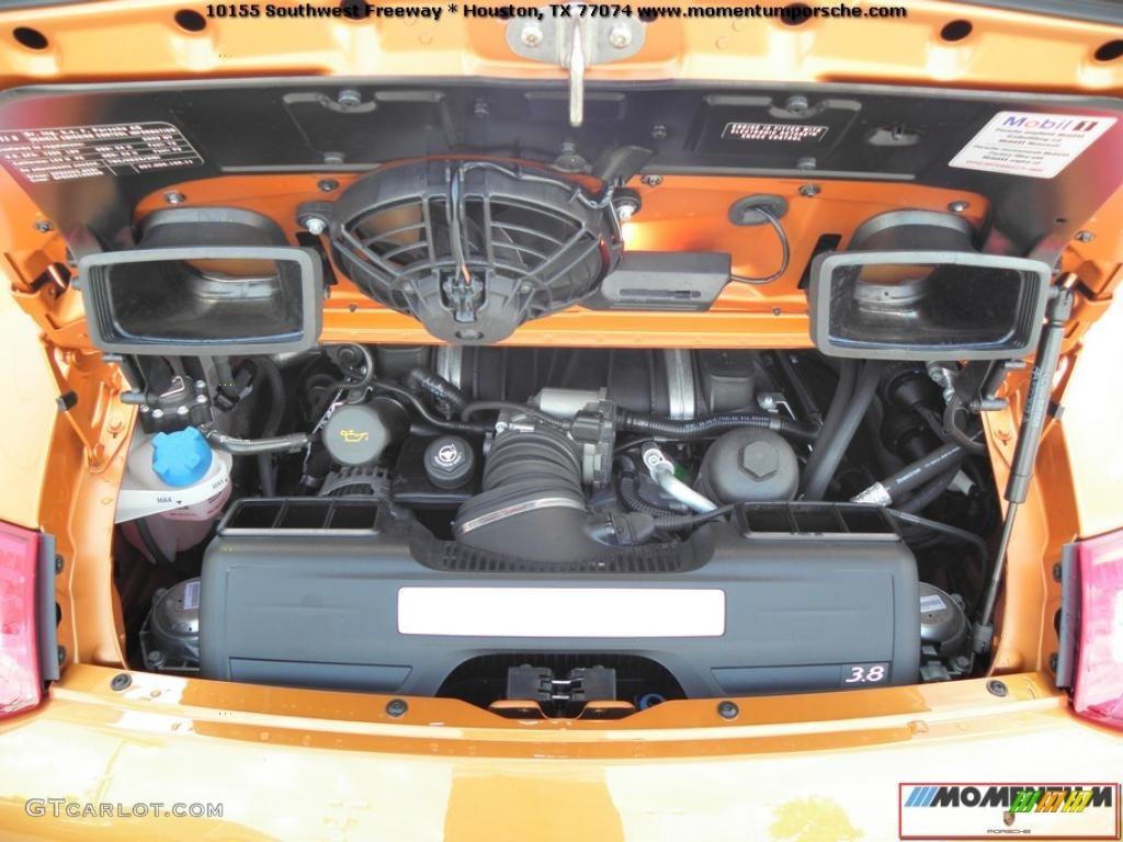 2009 Porsche 911 Targa 4s 3 8 Liter Dohc 24v Variocam Dfi