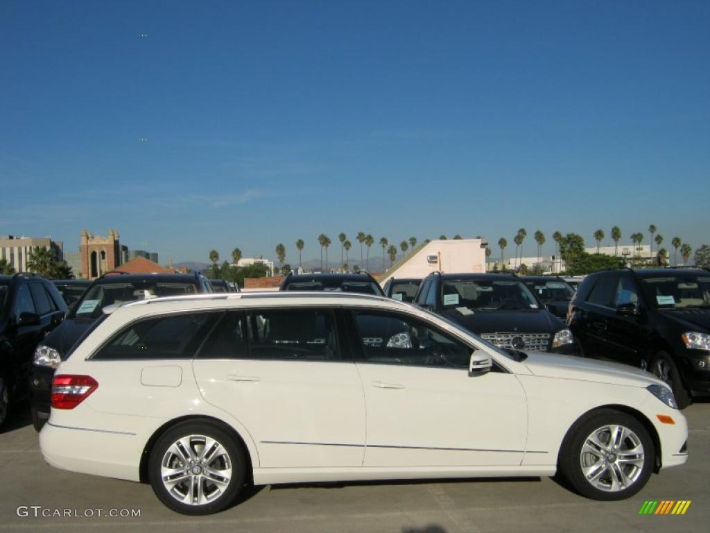 Arctic white 2011 mercedes benz e 350 4matic wagon for 2011 mercedes benz e350 4matic wagon